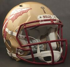 "FLORIDA STATE SEMINOLES **MINI** Football Helmet Nameplate ""NOLES"" Decal/Sticker"