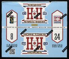 2013 Panini Hometown Heroes Baseball Unopened Factory Sealed Box ~ 24 Packs