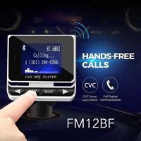 Car Kit MP3 Music Player & USB Charger Wireless Bluetooth FM Transmitter Radio