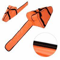 12/14/16'' Chainsaw Bag Saw Carry Case Protective Chain Saw Box Garden Orange