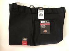 Dickies 874 Classic Fit Original Work Pants Black 42X32 NEW with tags