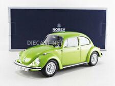 Norev 1972 VOLKSWAGEN Beetle 1303 Green Metallic in 1/18 Scale New Release!