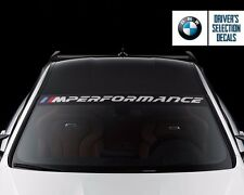 BMW M Performance 2016 Windshield windows sticker decal graphic