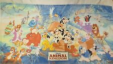 Walt Disney World Land Animal Kingdom Park Beach towel 31x60 RARE