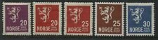 Norway 1926-28 definitive values to 30 ore mint o.g.