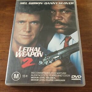 Lethal Weapon 2 DVD R4 Like New! FREE POST