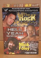 WWF Ringleaders Collection DVD 2002 Wrestling The Rock Stone Cold Mick Foley WWE