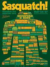 SASQUATCH FESTIVAL 2013 WASHINGTON CONCERT POSTER-Mumford & Sons,Vampire Weekend