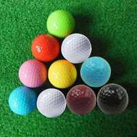 Brand New Assorted Color Mini Golf Balls Colorful Golf Practice Balls 2018