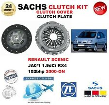 Pour Renault Scenic JA0/1 1.9 dCi RX4 102BHP 2000-ON Sachs 2 Piece Clutch Kit
