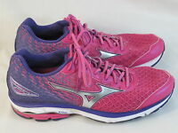 Mizuno Wave Rider 19 Running Shoes Women's Size 9.5 US Excellent Plus Condition