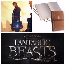 New Official Fantastic Beasts Newt Scamanders Journal-The Noble Collection
