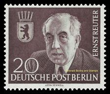 EBS West Berlin 1953 Ernst Reuter Michel 115 MNH**