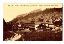 CPA 73 Savoie La Giettaz  Entrée du Chef-lieu et les Aravis