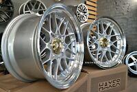 Nuevo 18 inch 5X120 HAXER Bbs Rs II 2 Estilo Deep Dish Wheels Para BMW E39 E60