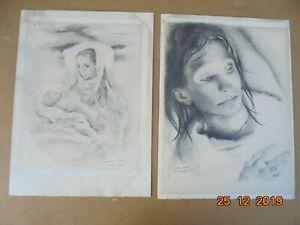 Mariette LYDIS (1894-1970)  2 Lithographies AncienneS  28 x 38 cm