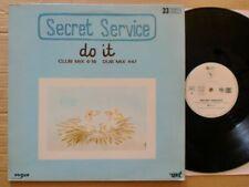 """SECRET SERVICE - DO IT / 12""""MAXI / 1983 / FRANCE / VOGUE 311031 LIMITED EDITION"""