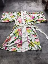 Ted Baker Dressing Gown Floral Size 12-14