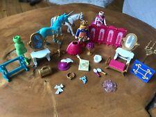 Lote De Trabajo Playmobile Royal Príncipe y Princesa Figues y juego de acceso.