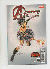 A-Force #1 - Books A Million Variant Cover - (Grade 9.2) 2015