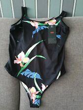 Damen Body Shirt Top LEVIS schwarz mit Print NEU Größe M