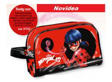 Trousse Bauletto Borsetta MIRACULOUS Disney Bambina NOVITA' Beauty Case Rosso