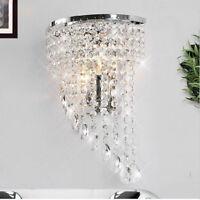 Fuloon Modern K9 Kristall Wandleuchten Wandlampe für Flur Treppe Übernachtung