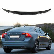 Carbon For Volvo S60 T4 T5 T6 D3 D4 V Look Rear Trunk Spoiler Wing 2011-2018