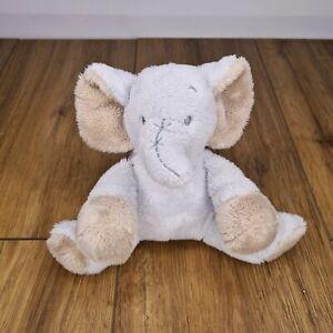 TINY TREASURES Blue Elephant Plush Toy (New) Card Factory Baby Soft *Free P&P*