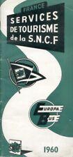 Services de Tourisme de la S.N.C.F. Europabus - 1960