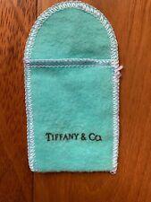 "Brand New Authentic Tiffany & Co Sell Medium Sleeve Bag 2"" x 2.75"""