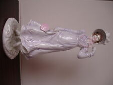 "Royal Worcester ""1818 The Regency""  Bone China Figurine"