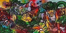 Original Art Arte  Painting Cuban Santiago Cuba Artist LEONARDO RUBIO BRIDON D3