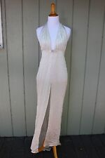 Victorias Secret Designer Collection Sparkly silver gown size Small, ORG. $498