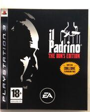 Gioco PS3 Il Padrino - The Don's edition - EA Games Playstation 3 Usato