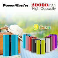 Portable 20000mAh Power Bank 3 USB Backup Battery Charger For Samsung iPhoneX 8