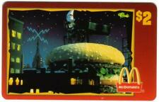 Mcdonald's 1996: Mac On Top di Hamburger - 1987 Pubb. (#36 50) Telefono Scheda