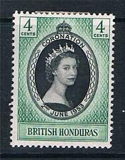 British Honduras 1953 Coronation SG 178 MNH