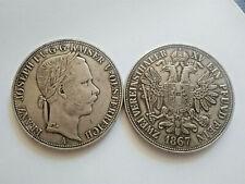 1867, Austria, Emperor Francis Joseph I Thaler, Fantasy Coin Medal