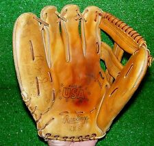 """Rawlings Reggie Jackson Baseball Glove KM8 NY Yankees LH 12"""" Excellent Condition"""
