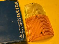 Volvo 240 245 260 265 Early Left Side Turn Signal Lens CIBIE 8076P Genuine NOS