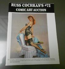 RUSS COCHRAN'S Comic Art Auction Catalog #72 NM 56 pgs Gil Elvgren