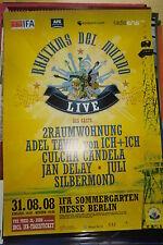 Juli, Silbermond, Culcha Candela, 2Raumwohnung -  Konzert Poster Tourposter 2008