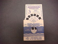 Sawyer's Viewmaster Reel,Travelogue,1950,Passiion Play Oberammergau,Germany 1551