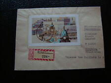 ALLEMAGNE RDA lettre 1980 - timbre stamp germany (cy1)