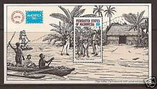 MICRONESIA # C25 MNH HAYES HOLDS CHIEF FOR RANSOM  AMERIPEX '86 Souvenir Sheet