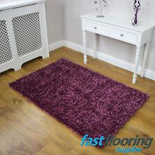 Glamour Amethyst Purple Rug *0.90 x 1.50*  Lounge Bedroom Rug SALE *RRP £105*