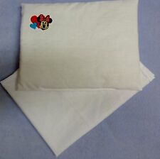 New Disney Minnie Mouse toy pram cot bed sheet and pillow set baby doll teddy