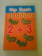 Flip Flash Addition pad educational flip card children's book