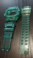 For G-shock GX-56  transparent green jelly bezel and strap